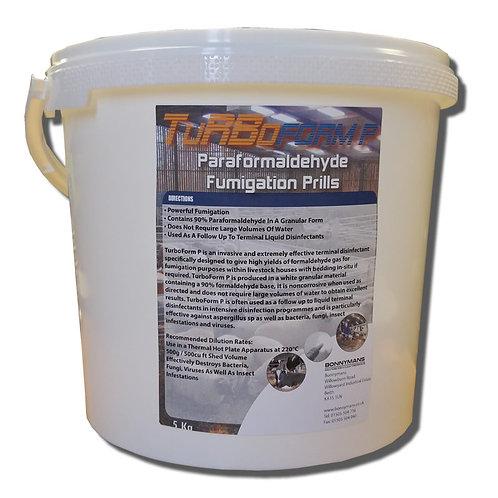 TurboForm P - Formaldehyde Fumigation Prills