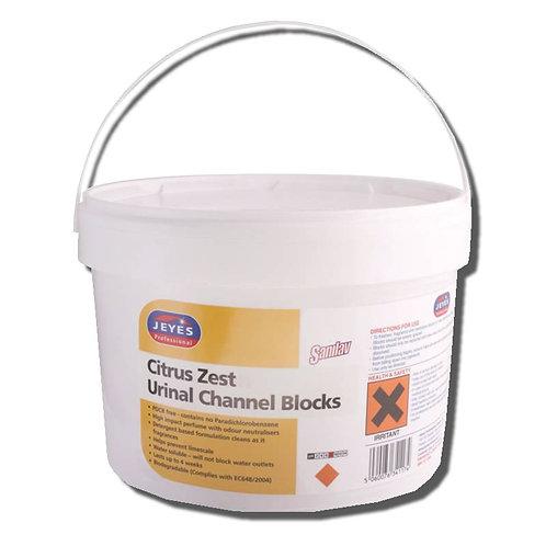 Jeyes Sanilav Urinal Channel Block (Citrus) 3Kg
