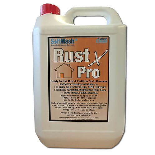 Rust X Pro Rust Remover. Ready To Use Rust & Fertilizer Stain Remover
