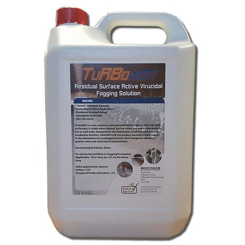 TurboMist - Virucidal Fogging Solution