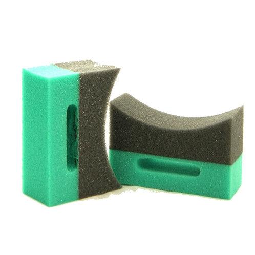 Two Shape Tyre Sponge Applicator