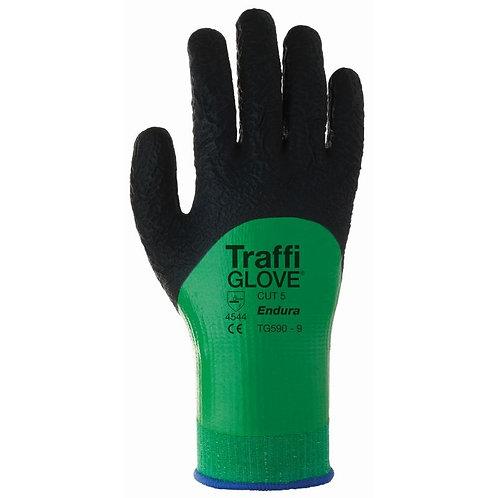 Traffiglove Tg590 Endura Cohesion Xp Coating Cut Level 5 Safety Gloves