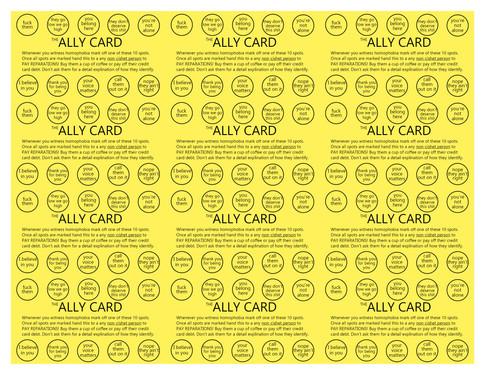 Ally card