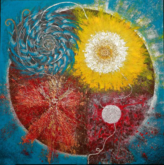 « Ma Roue Médecine » - création thérapeutique et chamanique