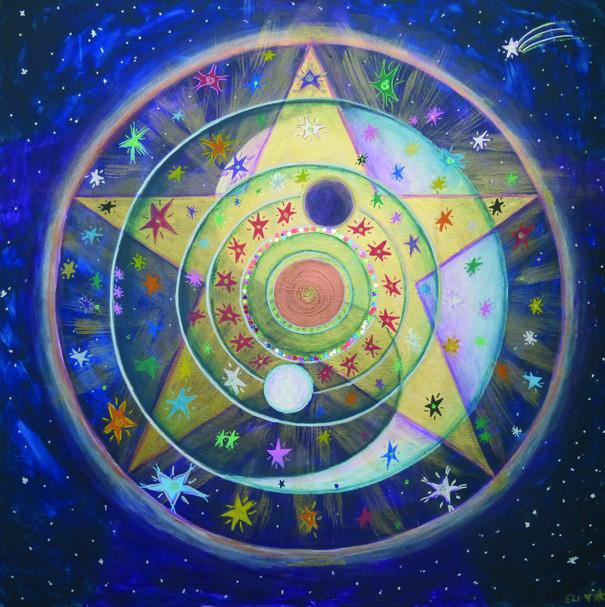 """""""Connexion » - Création de Soul Art sur le thème « me and my people » (ma « tribu et moi »)"""