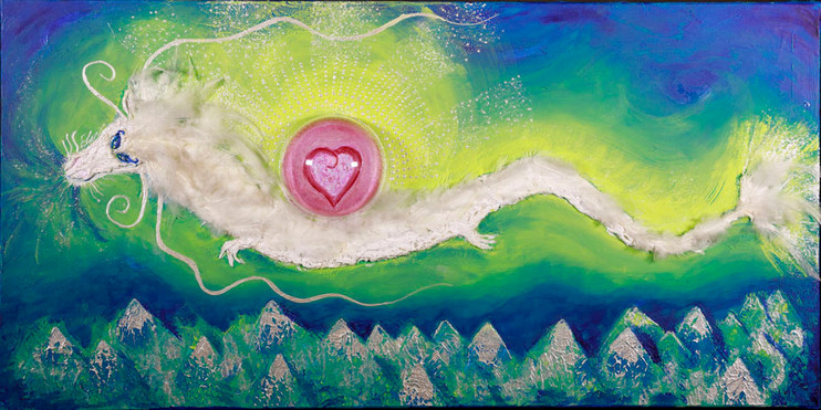 « Le Chevalier du Coeur » - création libre (vendu)