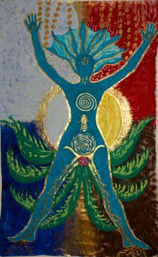 « L'Arbre renversé » - création de Soul Art - 1er Bodymapping