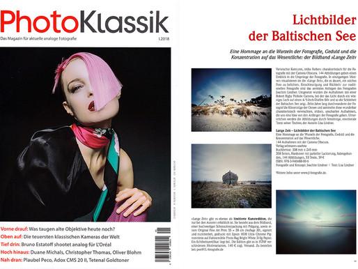 LANGE ZEIT in der aktuellen Ausgabe von PHOTOKLASSIK