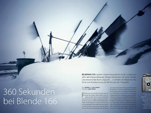 360 Sekunden bei Blende 166 ... LANGE ZEIT im fotoforum Magazin ...