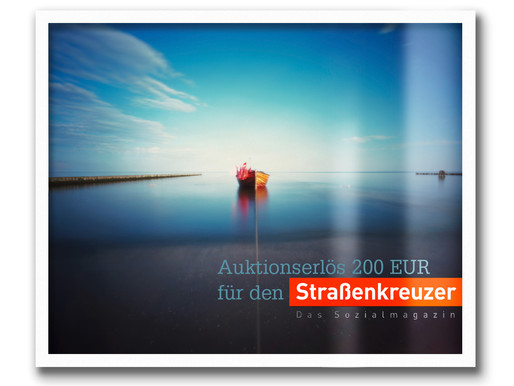 Usedom Motiv kam unter den Hammer ... 200 EUR gehen an den Straßenkreuzer e.V.