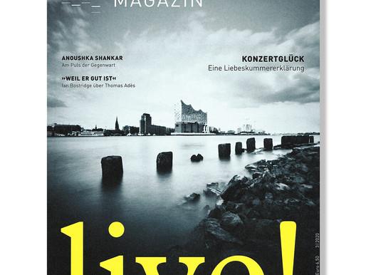 ... gerade eingetroffen! – das aktuelle Elbphilharmonie Magazin ...