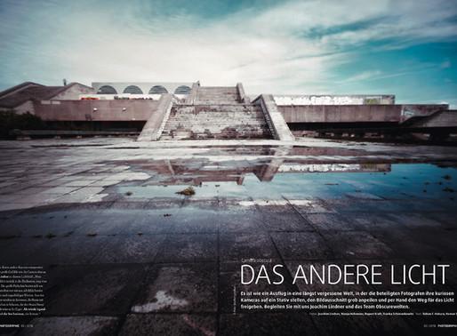 Das andere Licht ... LANGE ZEIT in der aktuellen Ausgabe der PHOTOGRAPHIE
