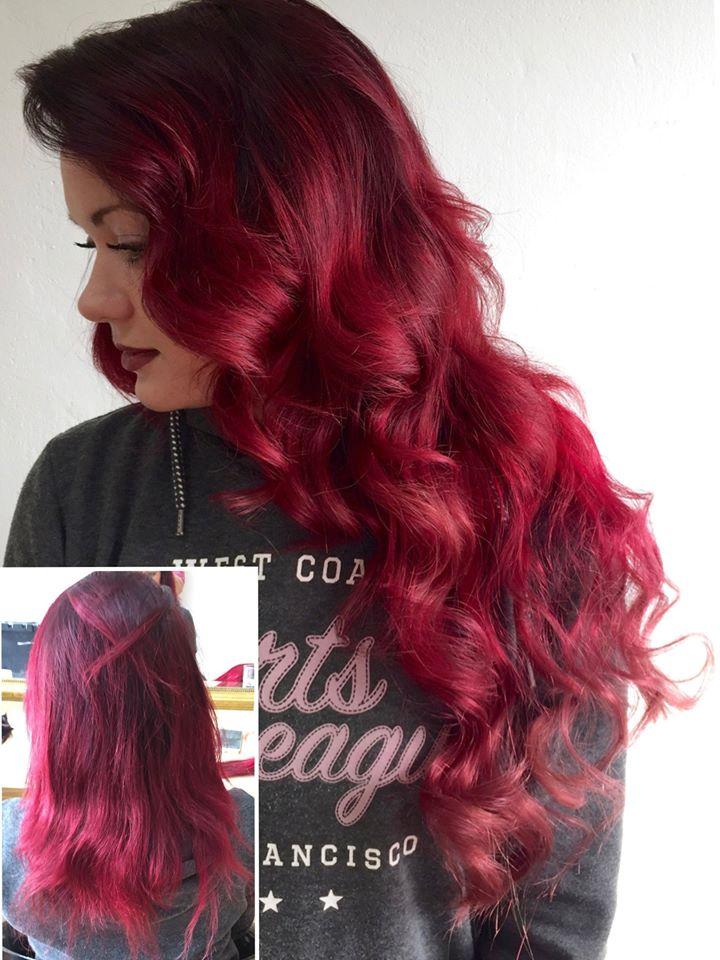 vlasy ze salonu