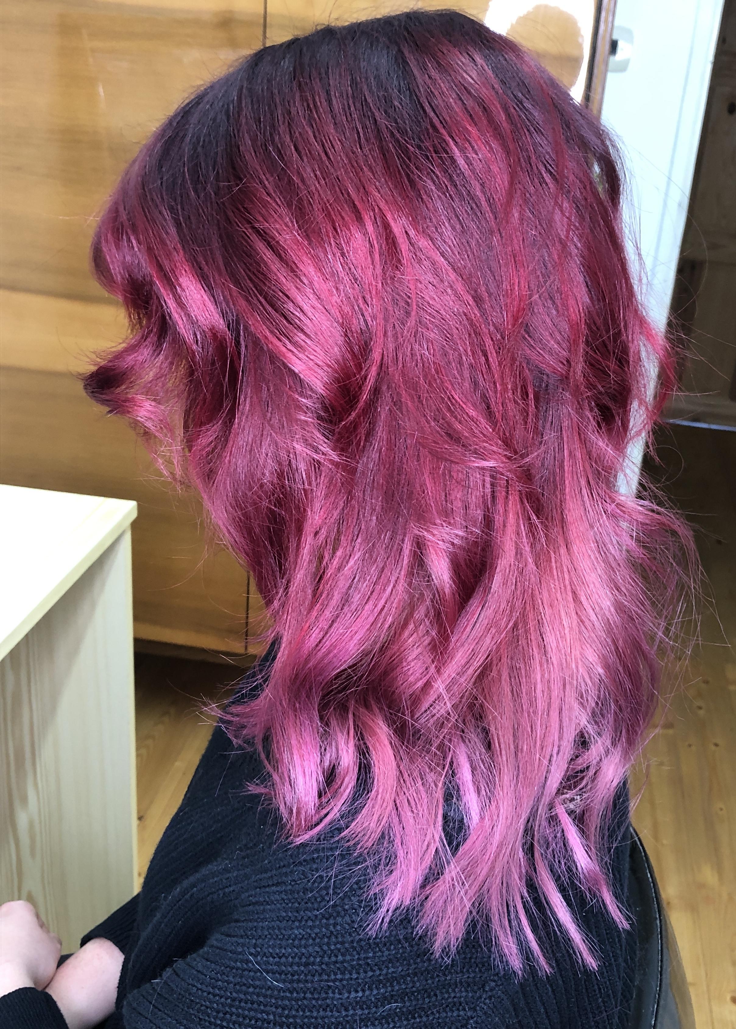 stínování vlasů