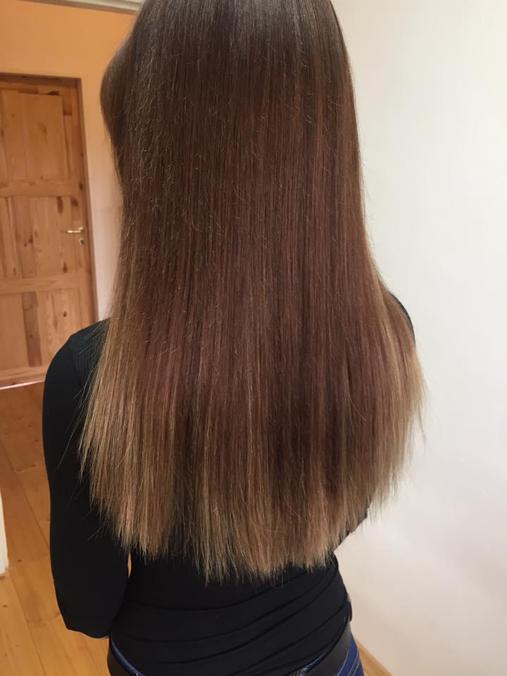 vlasy ze salonu pásky