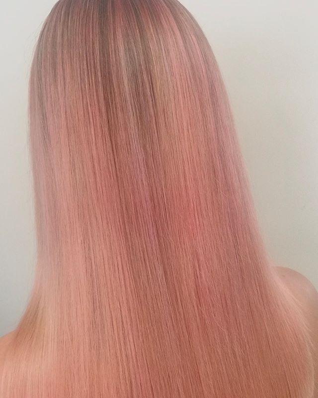 Lososová blond_#blondvlasy👸 #blond #bar