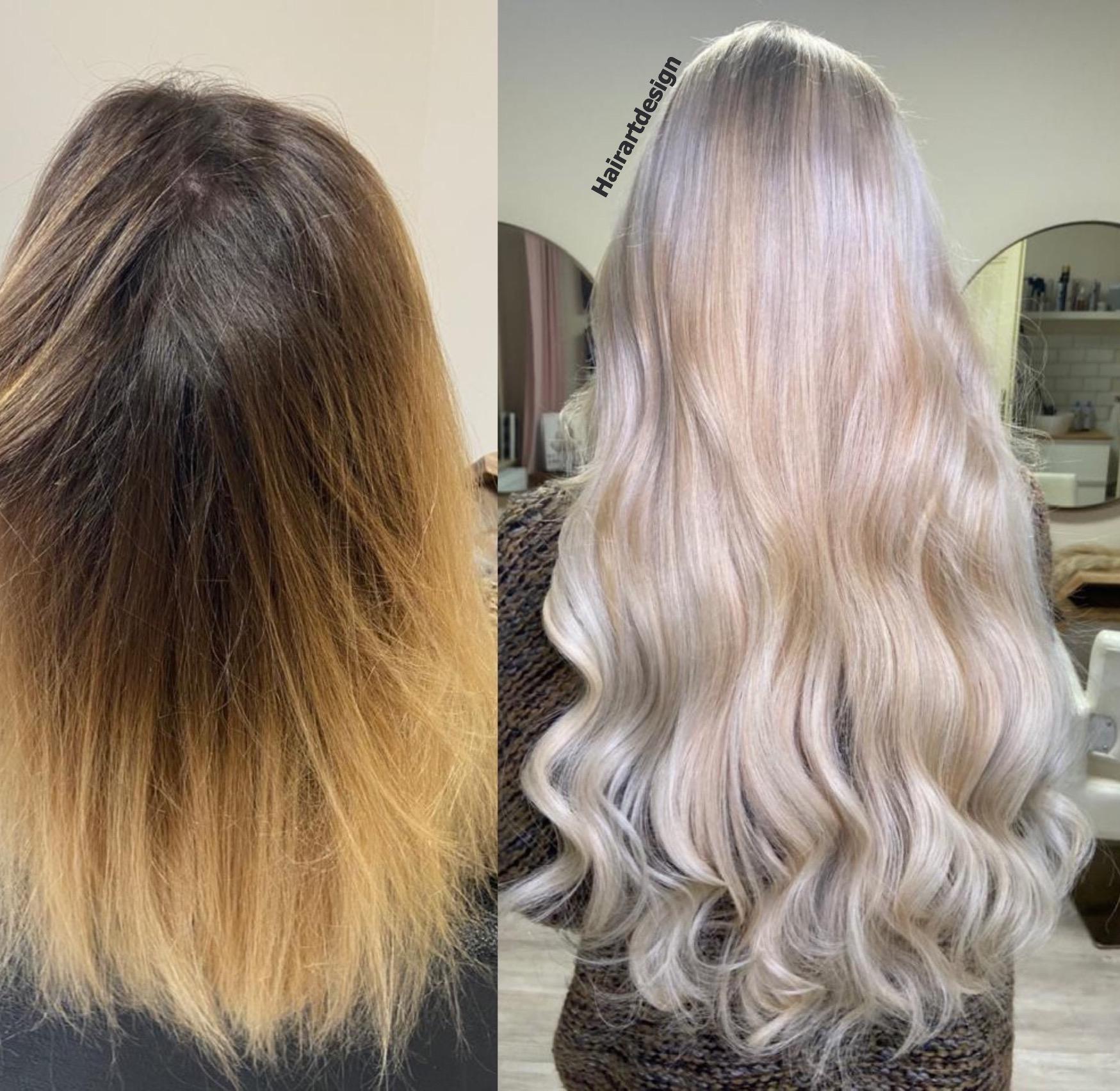 prodloužení blond