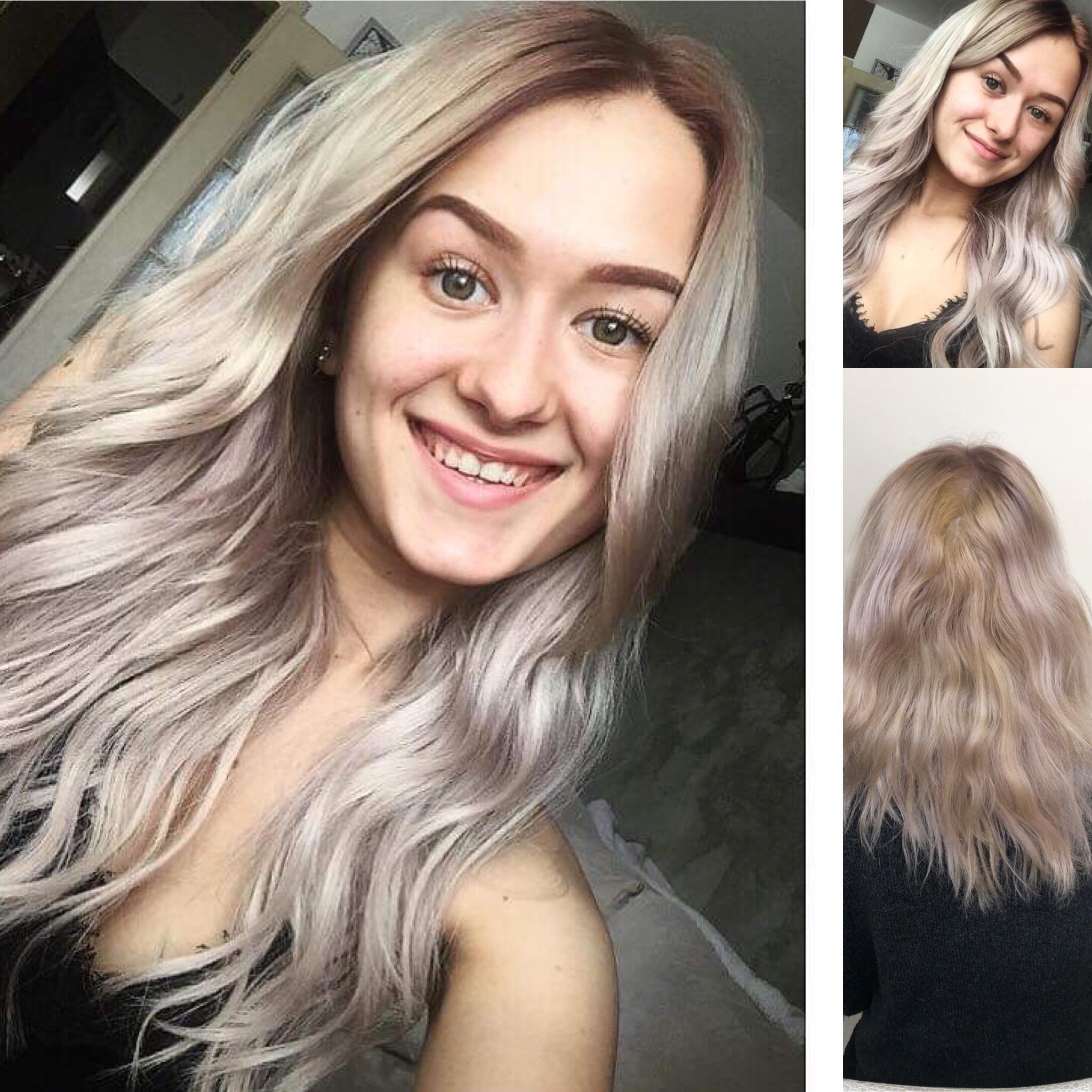 40cm studena blond