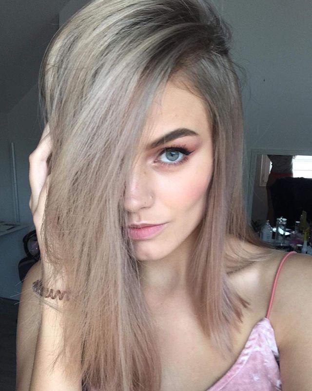 Stínované barvení vlasů pro přirozený od
