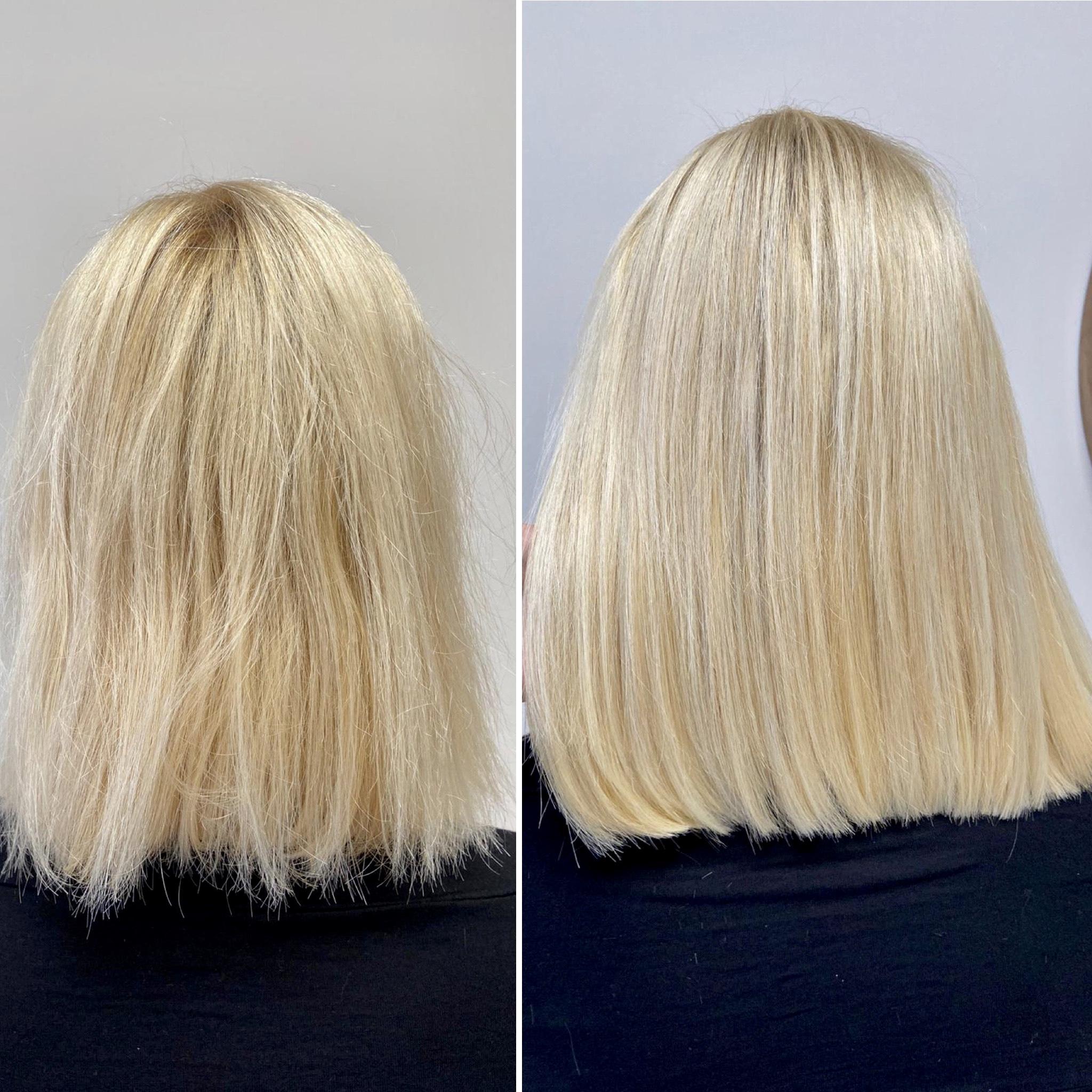 zhuštění českými vlasy