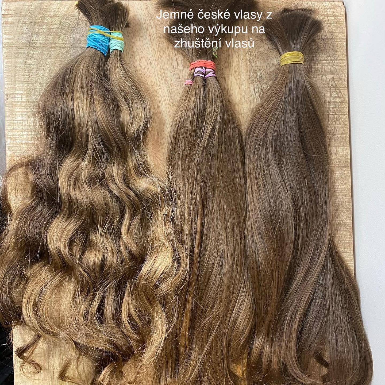 české vlasy z výkupu