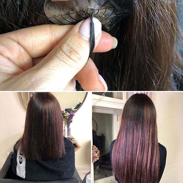 Prodlužování vlasů keratinem i metodou z