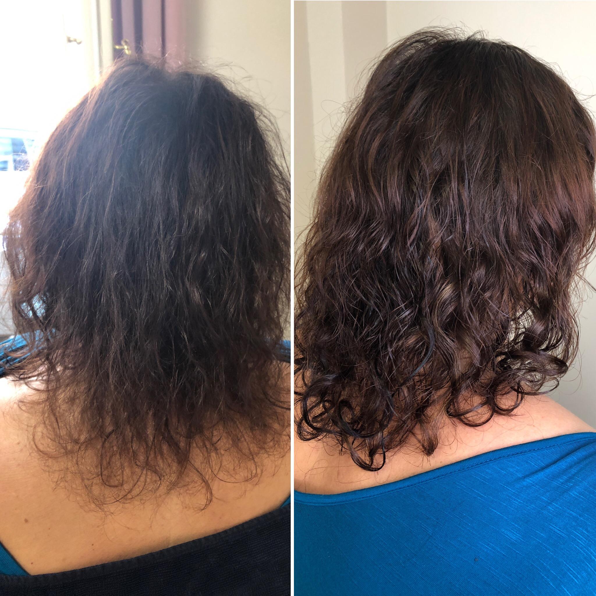 zhuštění jemných vlasů
