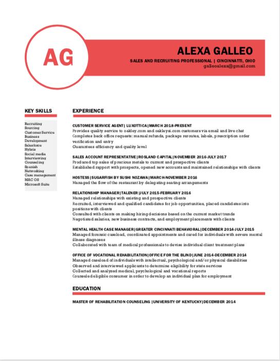 Resume/Cover Letter Help