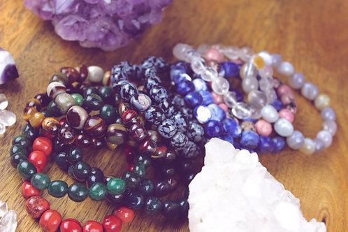 Perlenarmband große Perlen