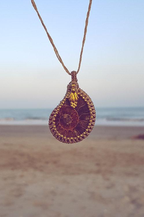 Donoma - Amulett - Ammonit