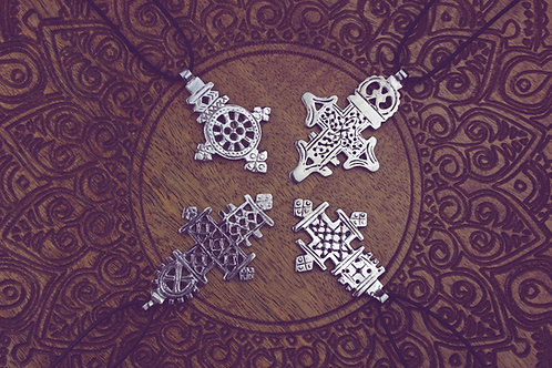 Keme - Ethno - Amulett silber