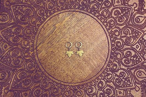 Ahornblätter - Ohrringe