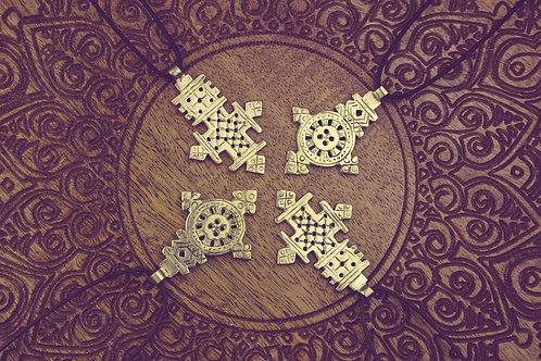 Messing Amulett