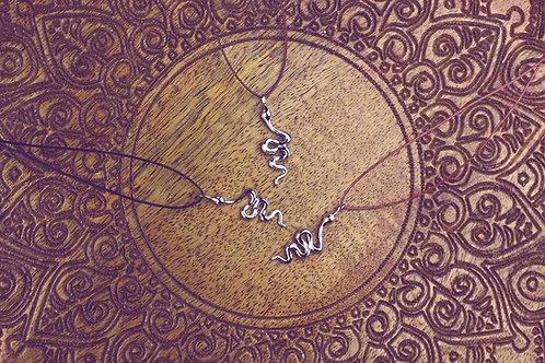 Asook - Schlangen - Kette silber