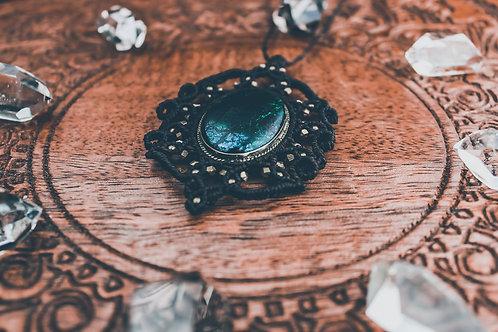 Etoya - Mandala - Amulett Chrysokoll