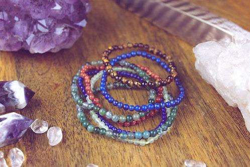 Perlenarmband kleine Perlen