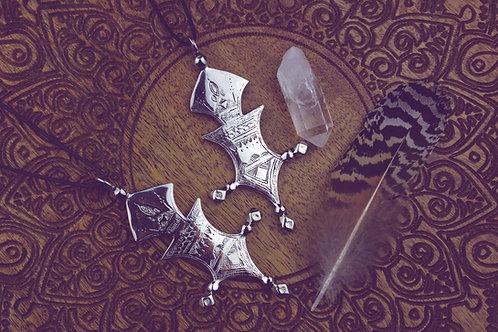 Ethno - Amulett silber