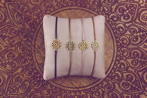 Kronenchakra - Armband
