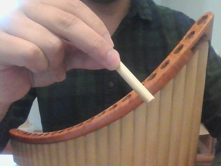 Common issue when tuning a pan flute