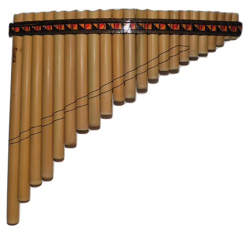 Semi-Professional 22 Pipes South-American Style Bamboo Pan Flute