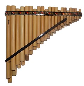 Professional 44 Pipes Chromatic Siku Zampoña Pan Flute | Ramos