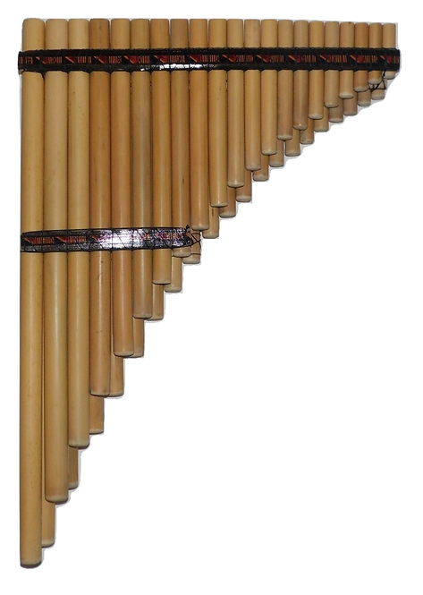 Professional 41 Pipes Chromatic Siku Zampoña Pan Flute - Ramos
