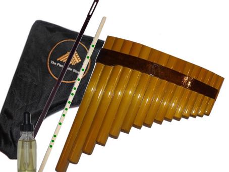 How to tune your pan flute - Student 15 Pipes