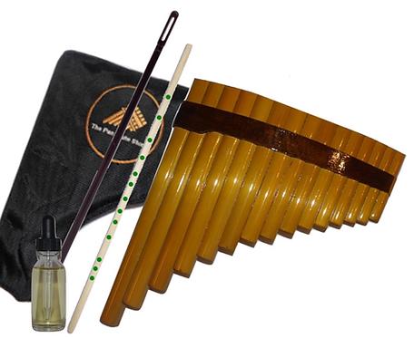 Complete Pan Flute Beginner's Set