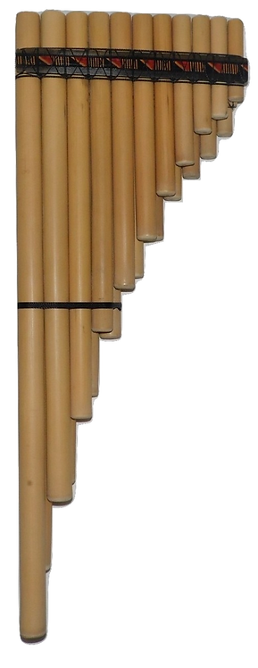 Professional 21 Pipes Siku Zampoña Marimacha Pan Flute - Ramos