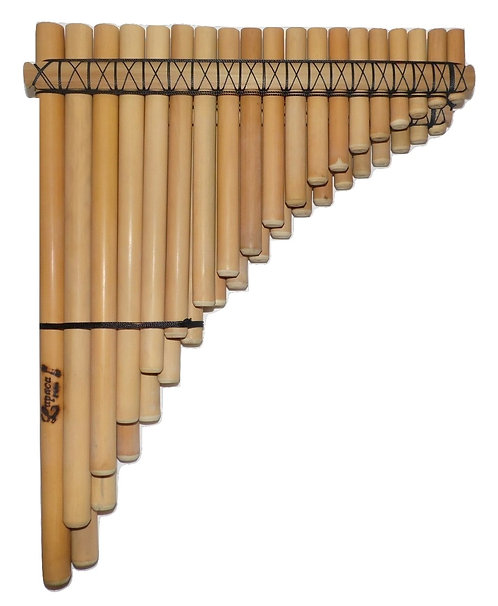 Professional 37 Pipes Chromatic Pan Flute Antara | Luthier Nestor Lupaca