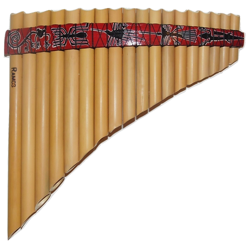 Student 18 Pipes Inka Style Pan Flute | Ramos