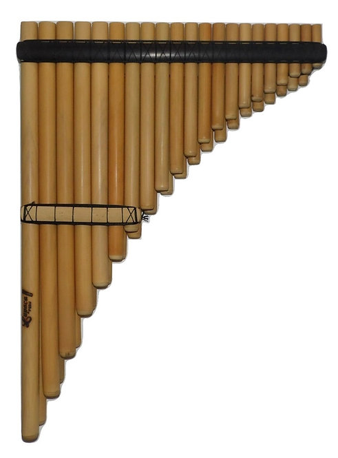 Professional 41 Pipes Chromatic Zampoña Pan Flute - Luthier Nestor Lupaca