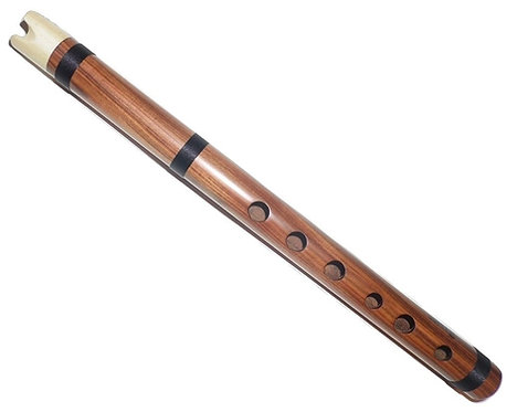 Luxurious Jacaranda wood & Bone Mouthpiece Quena - G major - G4