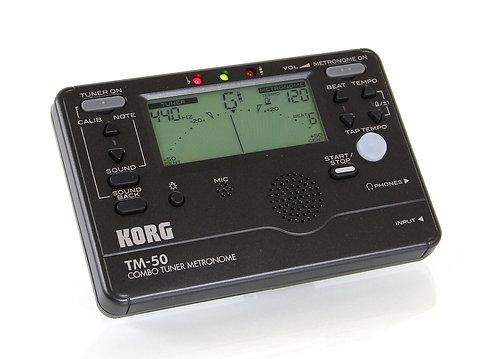 Korg Tuner-Metronome Combo (KORG-TM50)